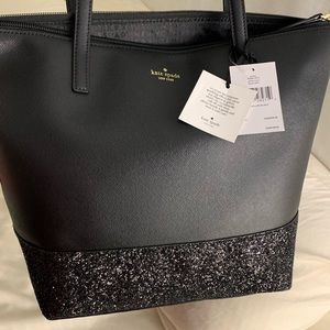 Authentic Kate Spade Black Leather Purse
